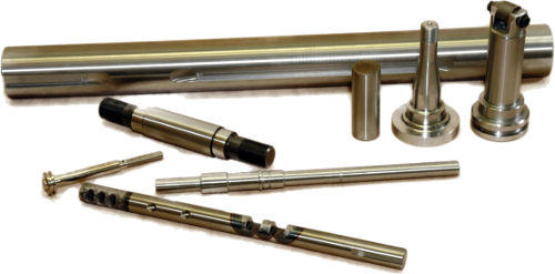 Shafts, Pins – Ag, Material Handling, Food Processing, Energy Industries – SS304, 4140, 1045, 12L14